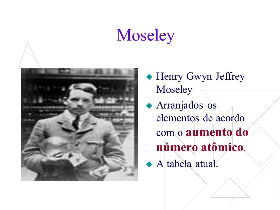 Moseley Henry Gwyn Jeffrey Moseley