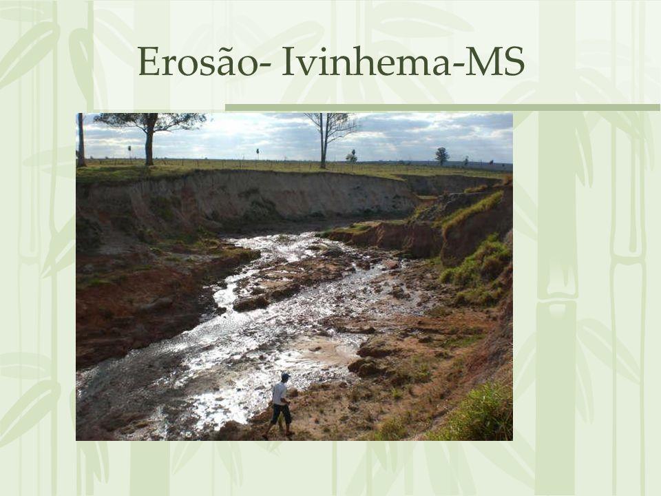 Erosão- Ivinhema-MS