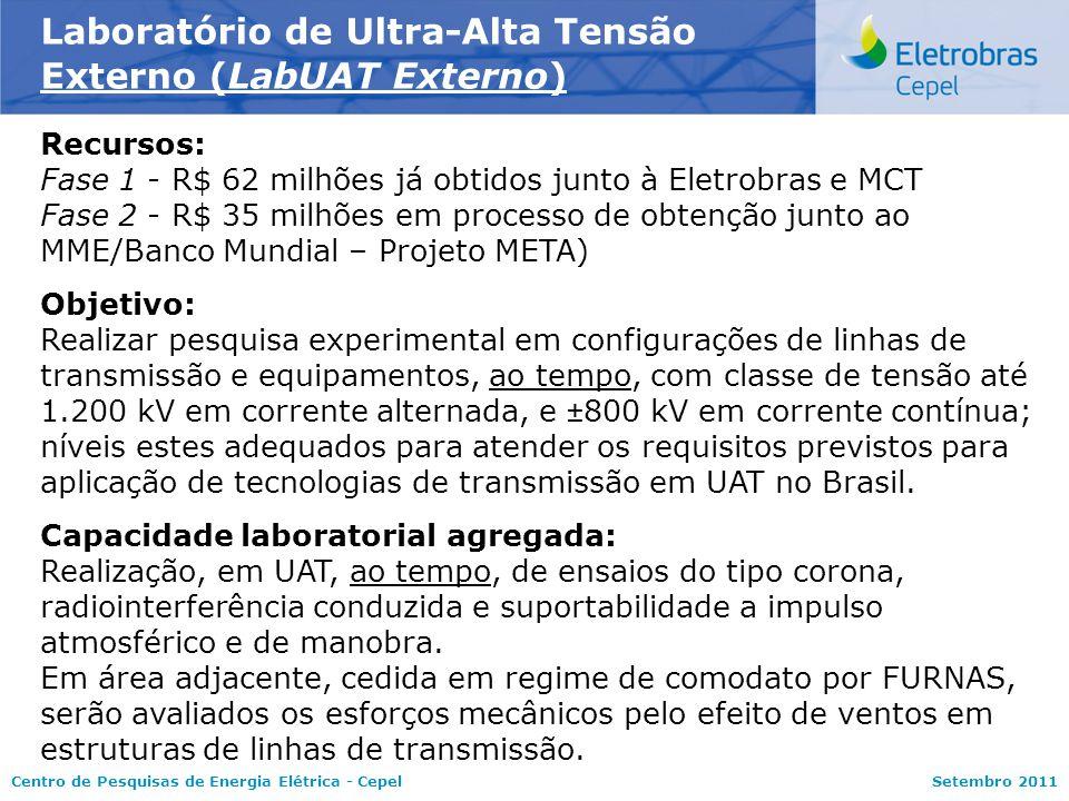Laboratório de Ultra-Alta Tensão Externo (LabUAT Externo)