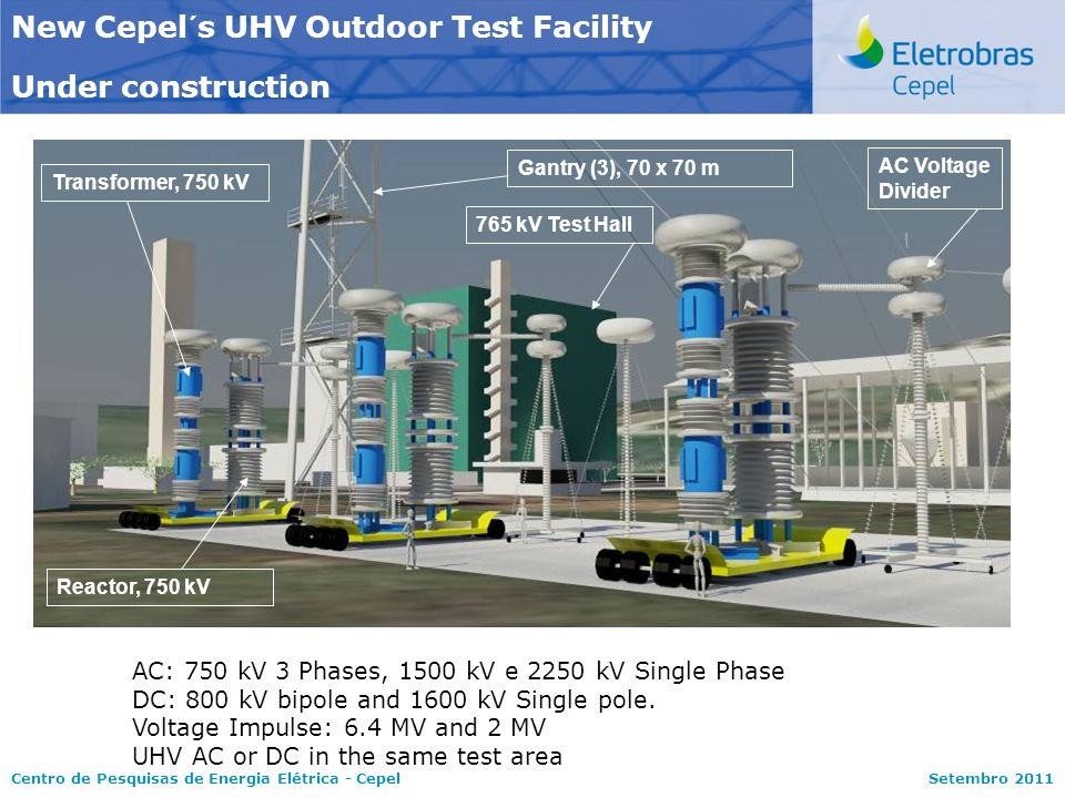 New Cepel´s UHV Outdoor Test Facility Under construction