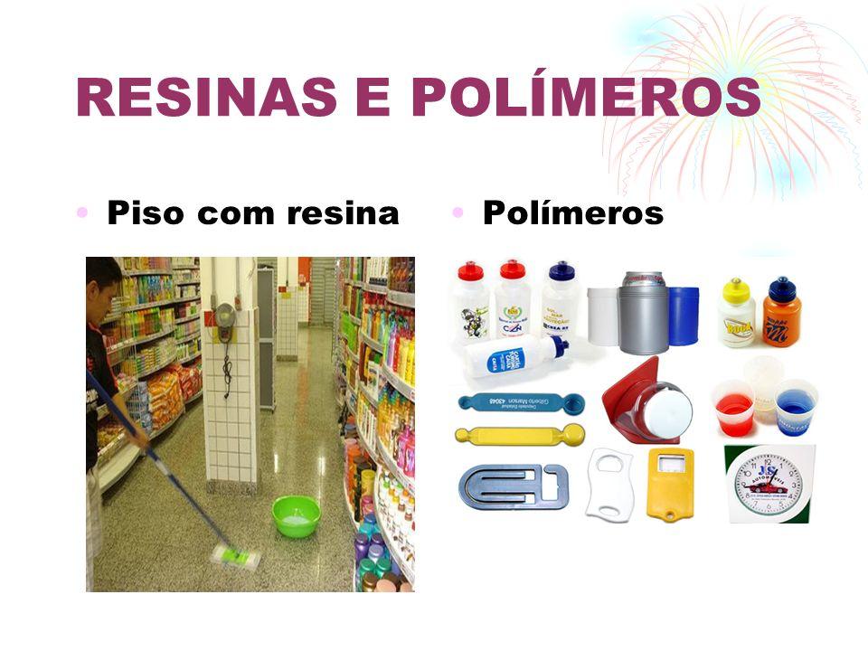 RESINAS E POLÍMEROS Piso com resina Polímeros