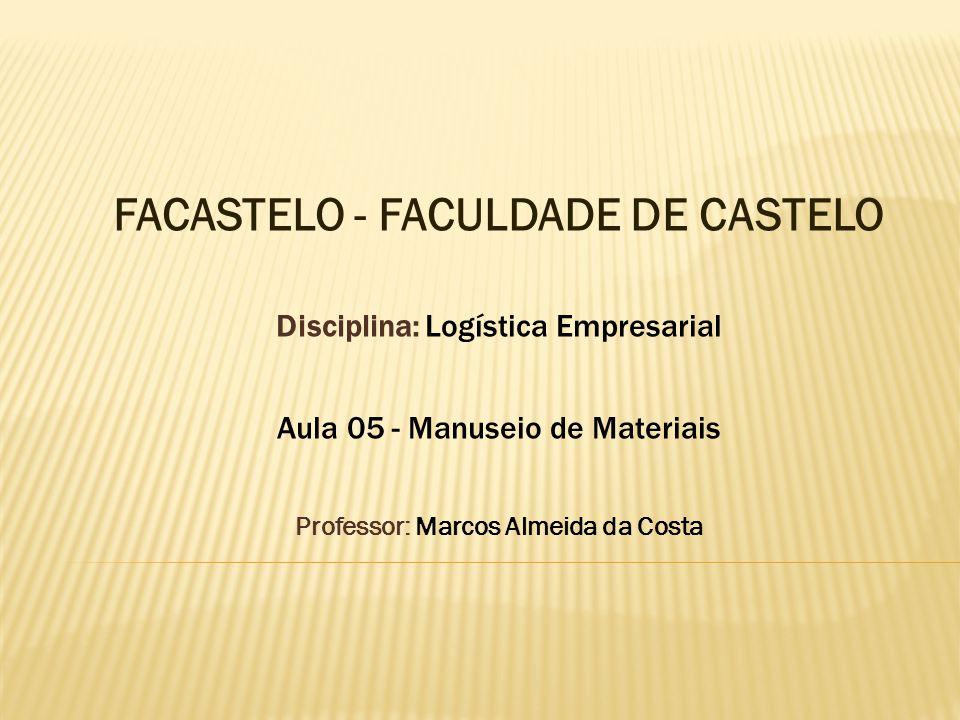 Professor: Marcos Almeida da Costa
