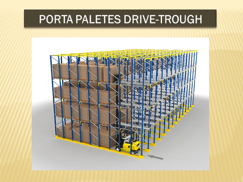 PORTA PALETES DRIVE-TROUGH