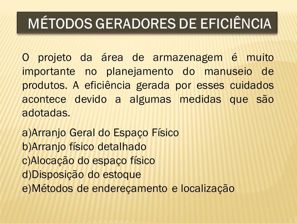 MÉTODOS GERADORES DE EFICIÊNCIA