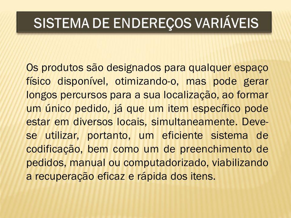 SISTEMA DE ENDEREÇOS VARIÁVEIS