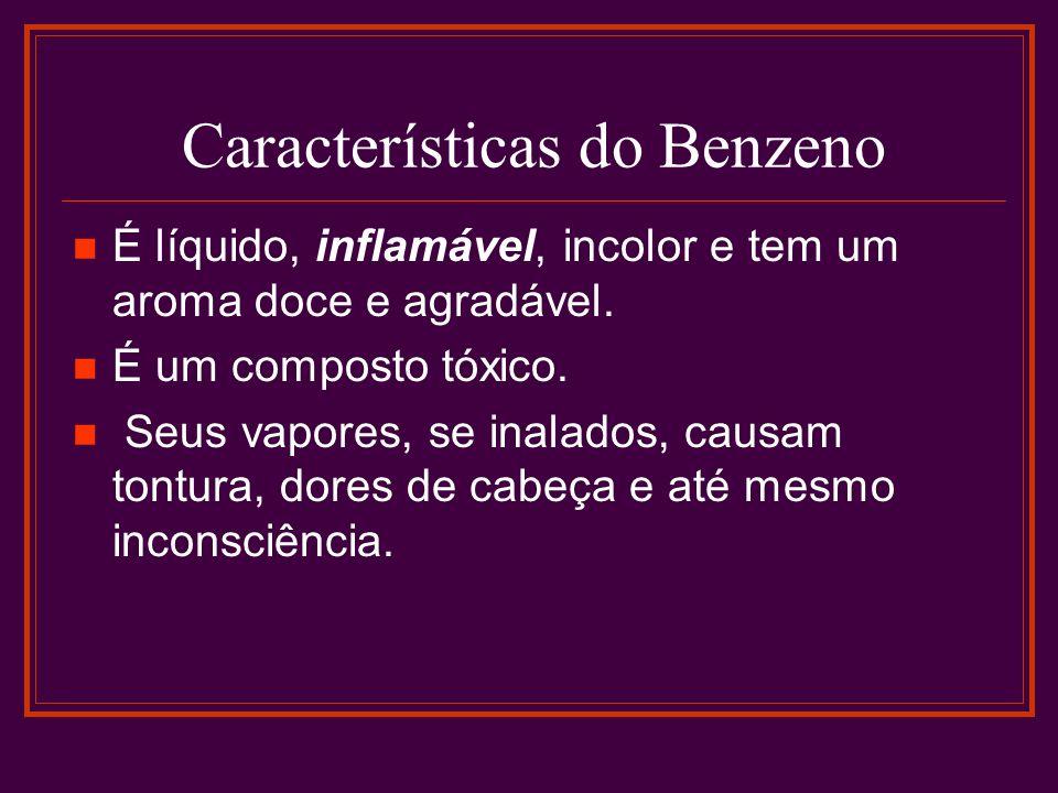Características do Benzeno