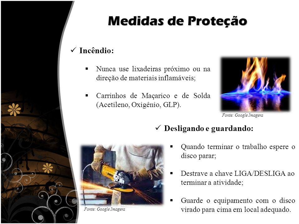 Medidas de Proteção Incêndio: Desligando e guardando: