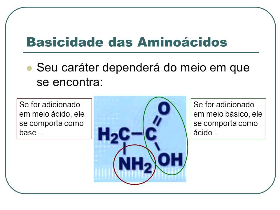 Basicidade das Aminoácidos