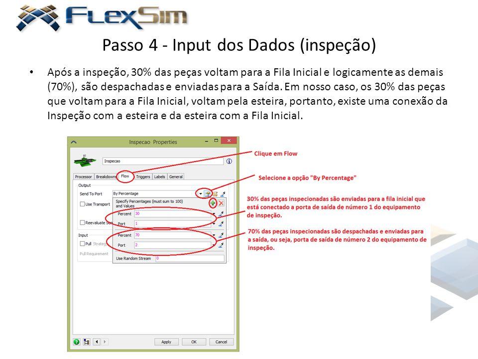 Passo 4 - Input dos Dados (inspeção)