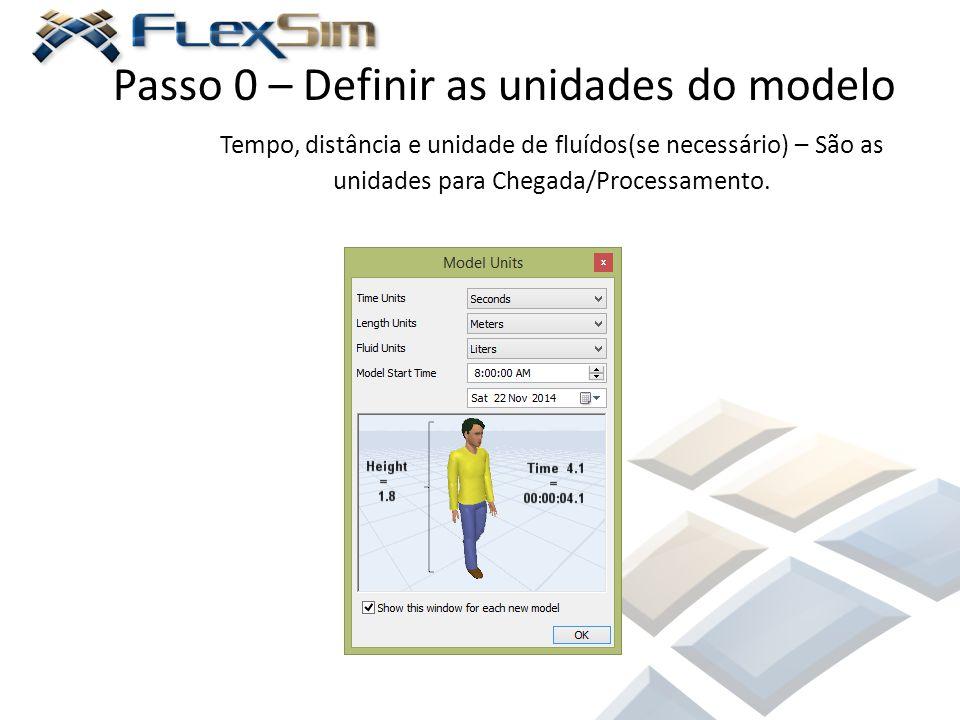 Passo 0 – Definir as unidades do modelo