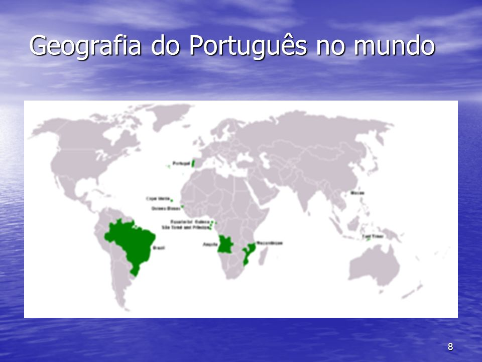 Geografia do Português no mundo