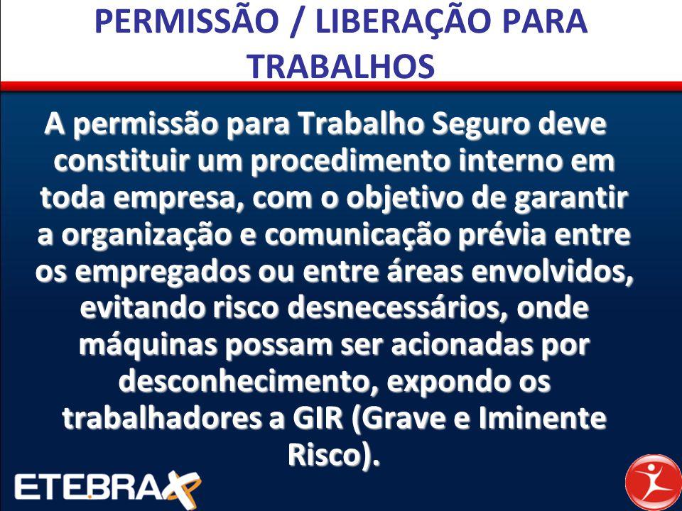 PERMISSÃO / LIBERAÇÃO PARA TRABALHOS