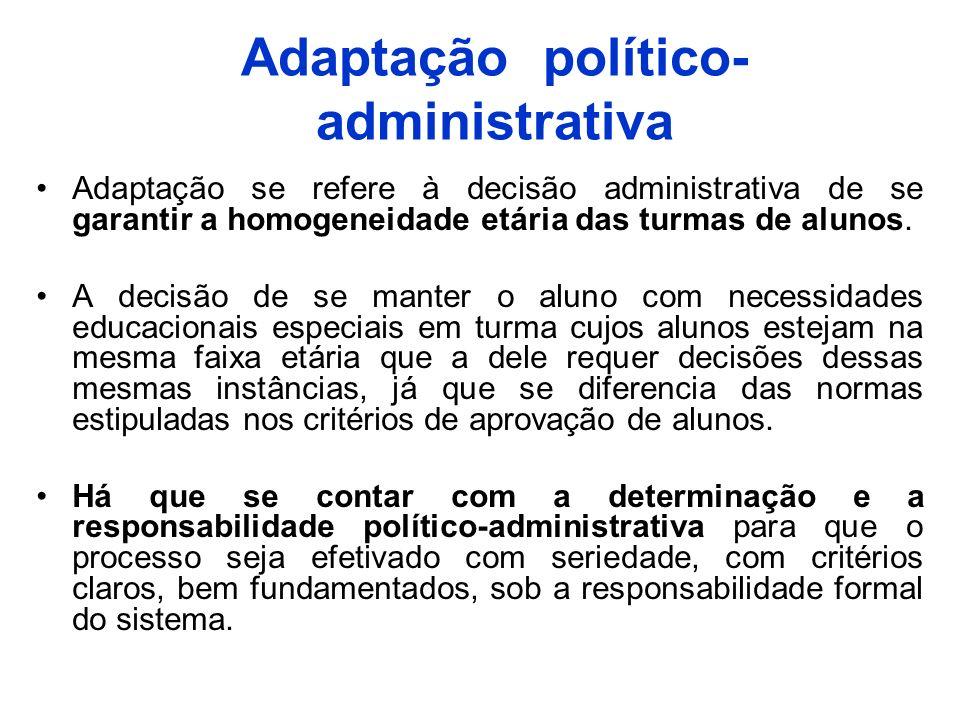 Adaptação político-administrativa