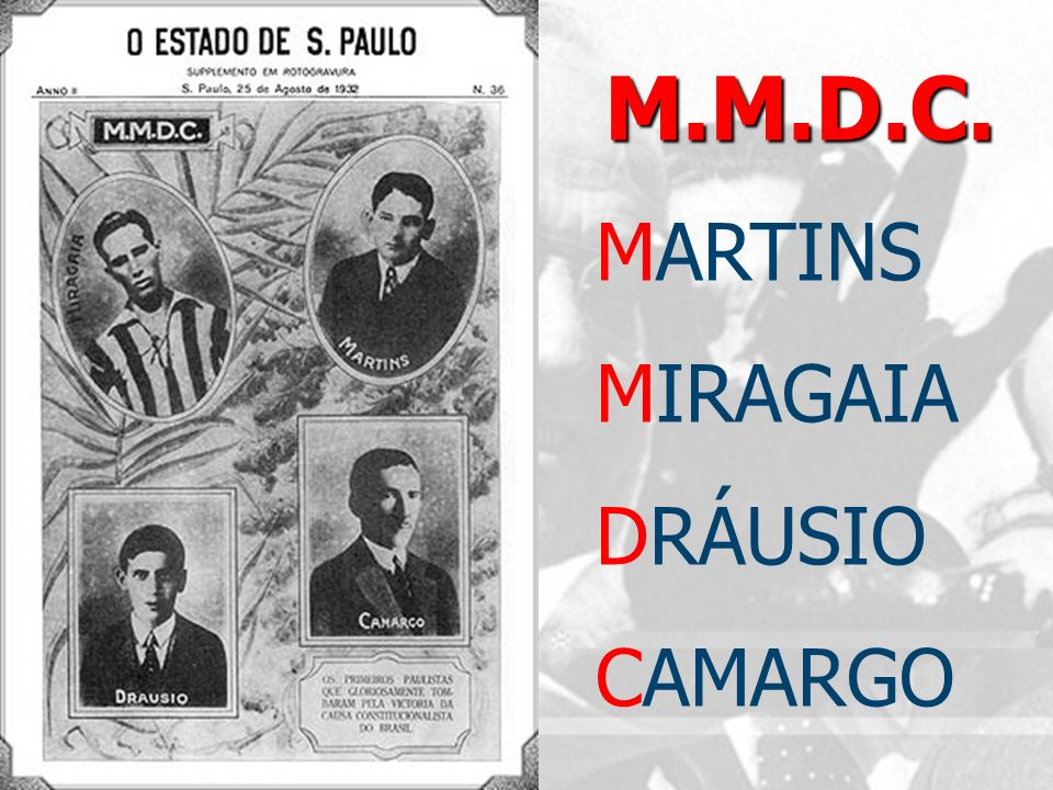 M.M.D.C. MARTINS MIRAGAIA DRÁUSIO CAMARGO