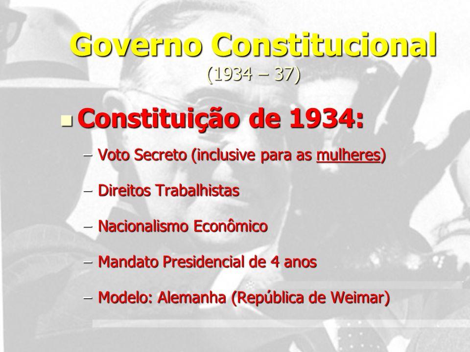 Governo Constitucional (1934 – 37)