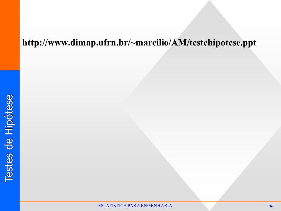 http://www.dimap.ufrn.br/~marcilio/AM/testehipotese.ppt