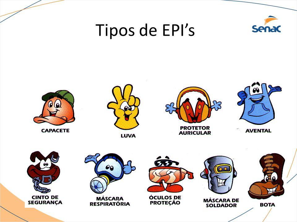 Tipos de EPI's