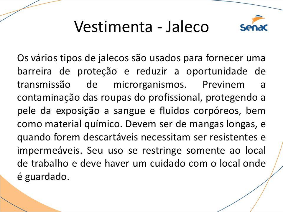 Vestimenta - Jaleco