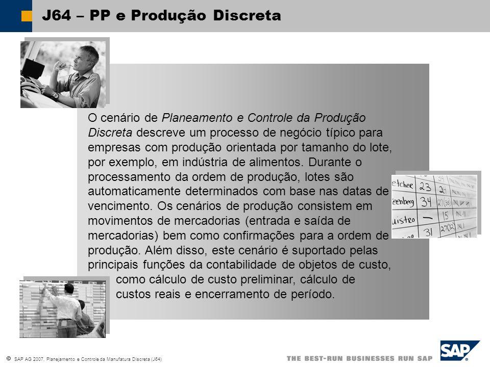 J64 – PP e Produção Discreta