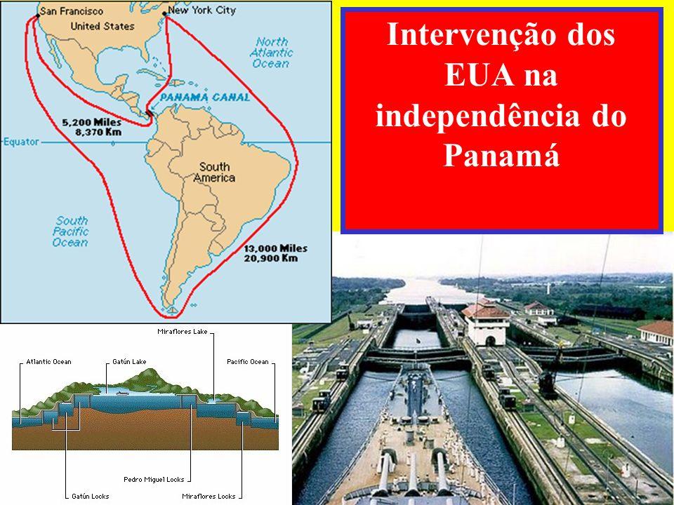 Intervenção dos EUA na independência do Panamá