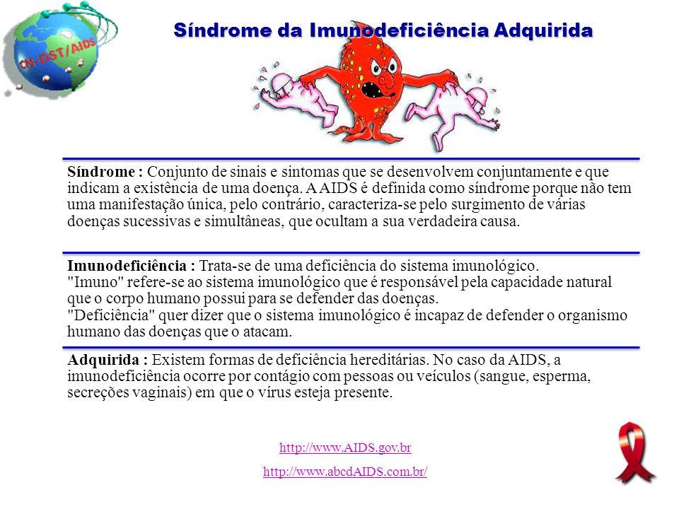 Síndrome da Imunodeficiência Adquirida