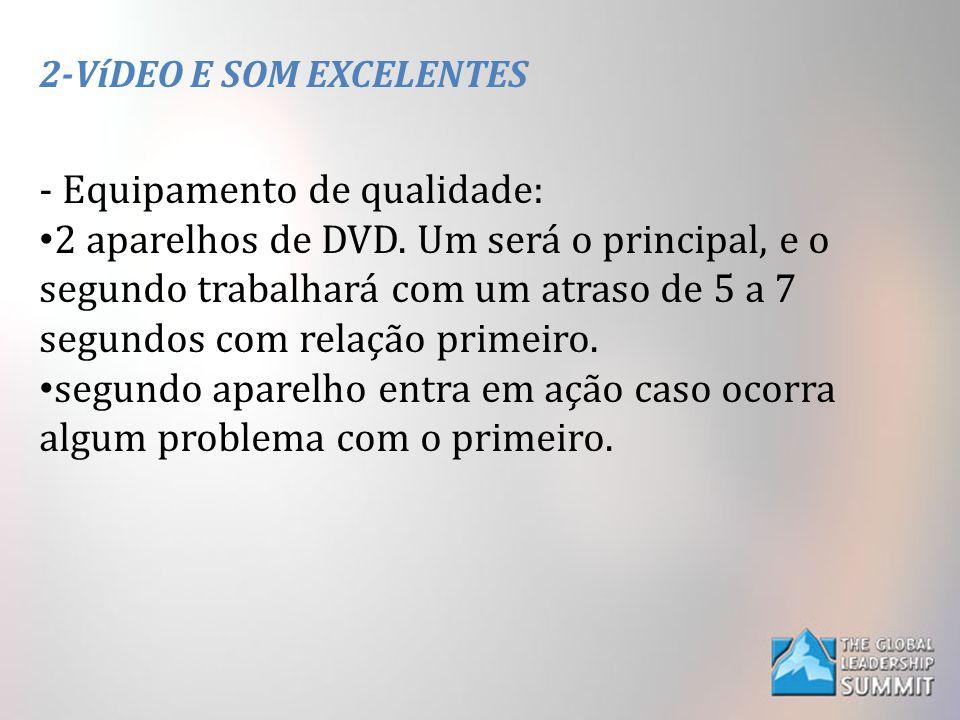 2-VíDEO E SOM EXCELENTES