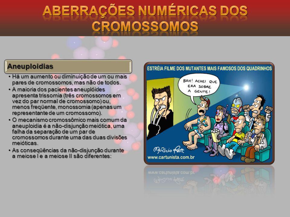 Aberrações Numéricas dos Cromossomos
