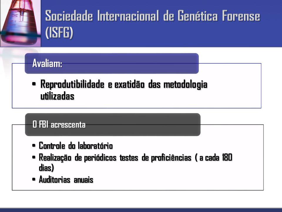 Sociedade Internacional de Genética Forense (ISFG)