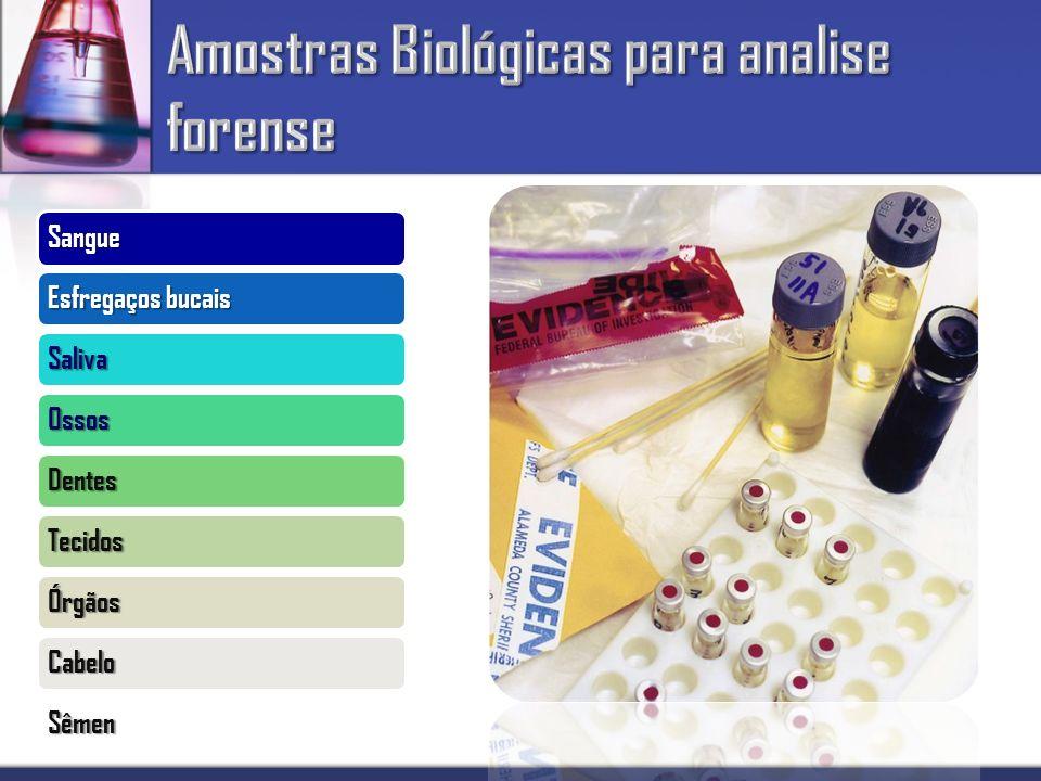 Amostras Biológicas para analise forense