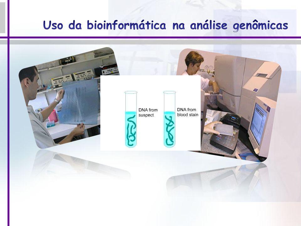 Uso da bioinformática na análise genômicas
