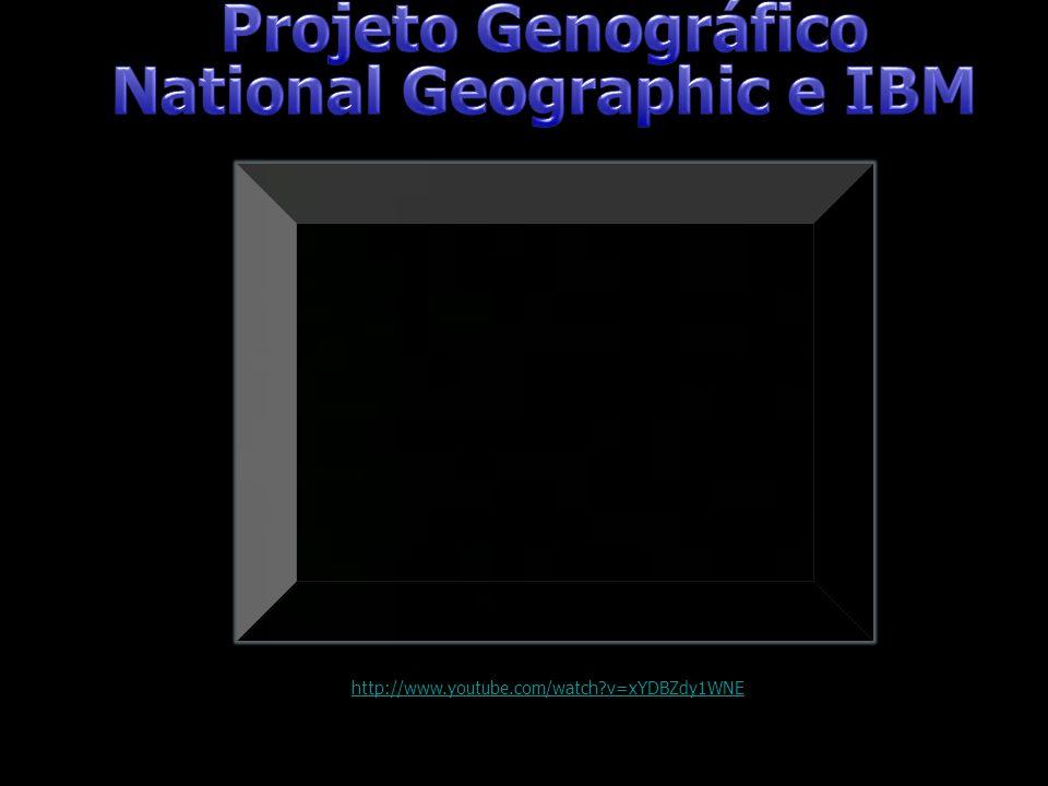 Projeto Genográfico National Geographic e IBM