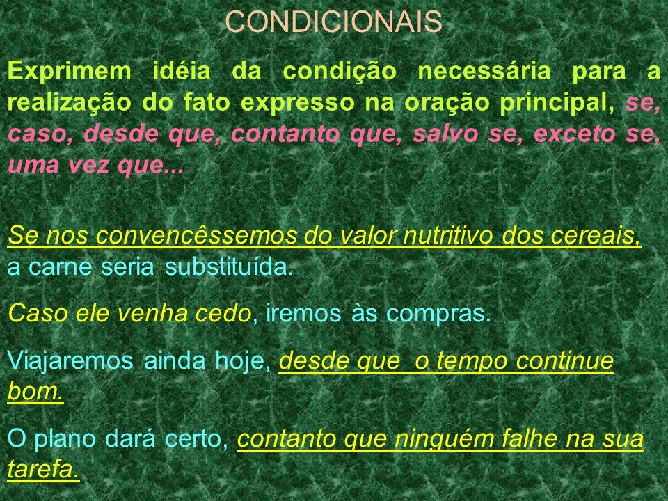 CONDICIONAIS