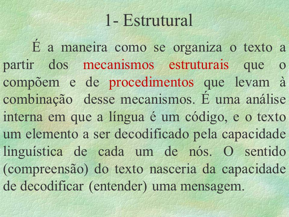 1- Estrutural
