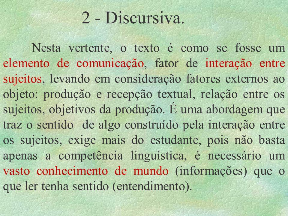 2 - Discursiva.