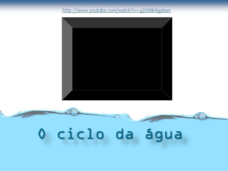 http://www.youtube.com/watch v=g26Wk4gpkws O ciclo da água