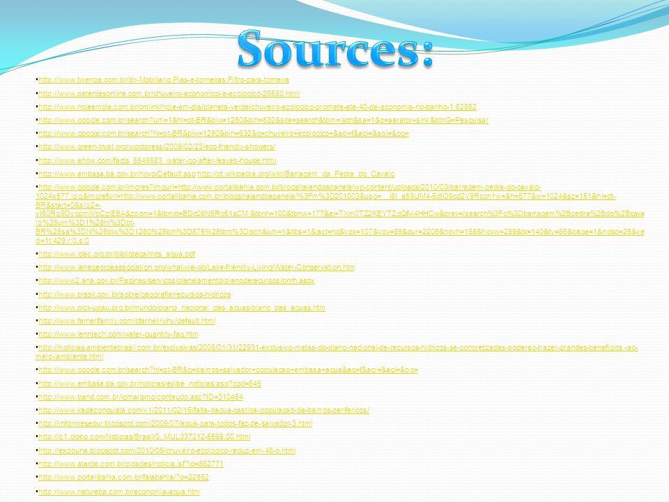 Sources: http://www.twenga.com.br/dir-Mobiliario,Pias-e-torneiras,Filtro-para-torneira.