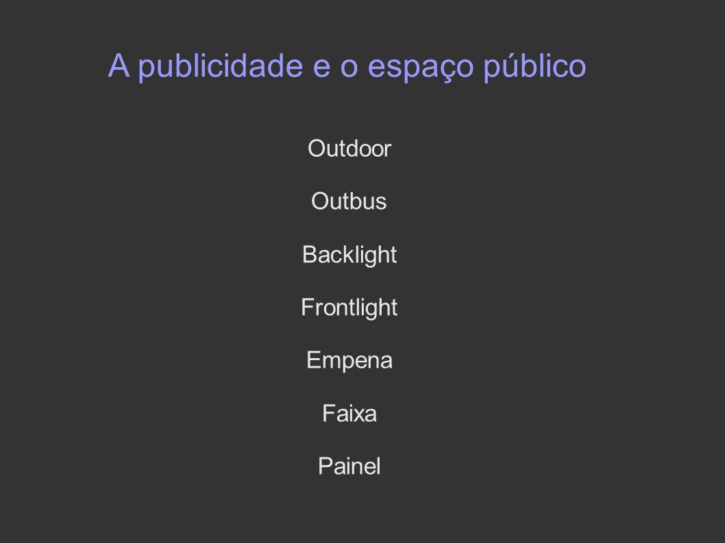 A publicidade e o espaço público