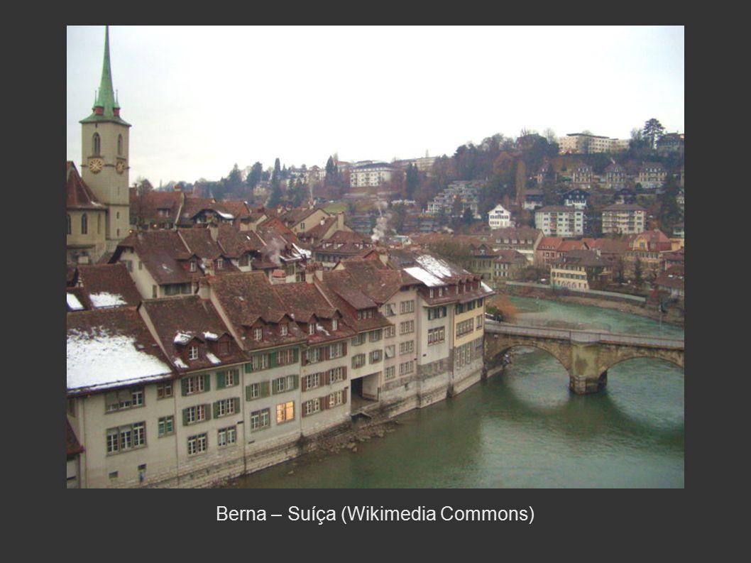 Berna – Suíça (Wikimedia Commons)