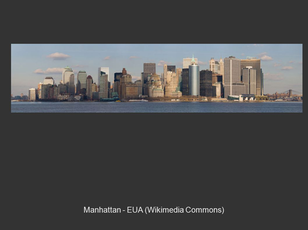 Manhattan - EUA (Wikimedia Commons)‏