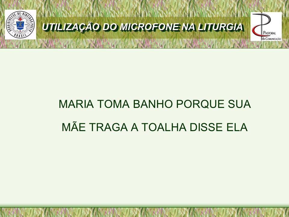 MARIA TOMA BANHO PORQUE SUA MÃE TRAGA A TOALHA DISSE ELA