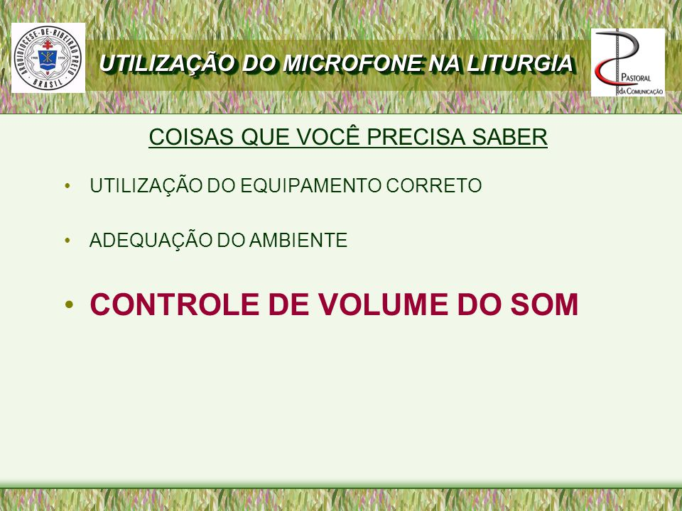 CONTROLE DE VOLUME DO SOM