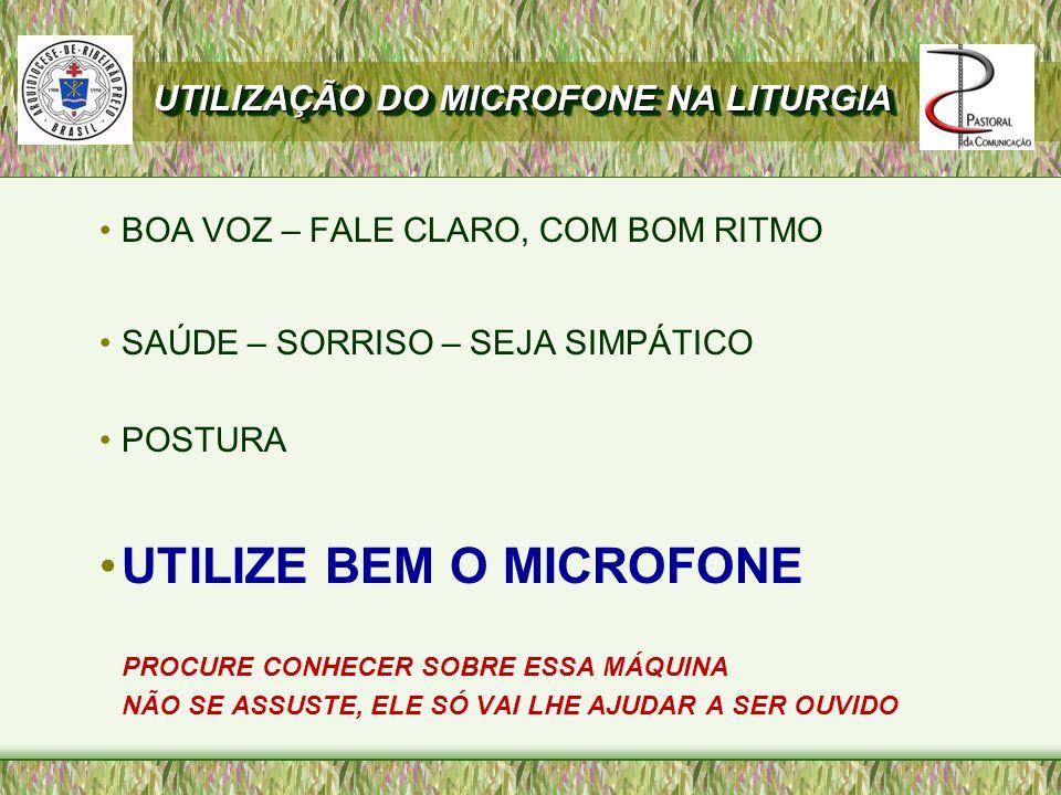 UTILIZE BEM O MICROFONE