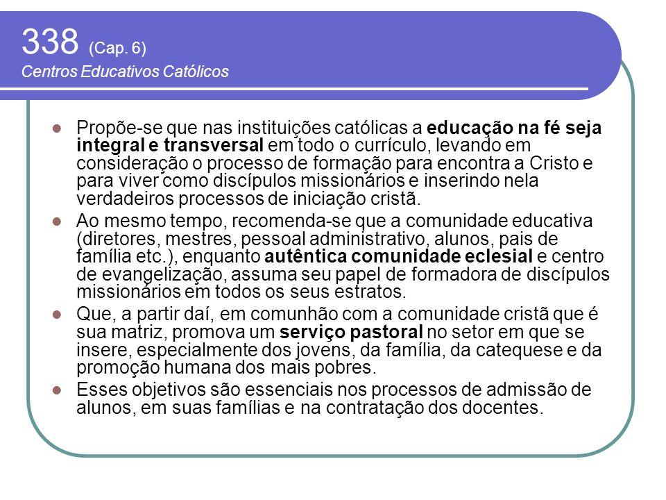 338 (Cap. 6) Centros Educativos Católicos