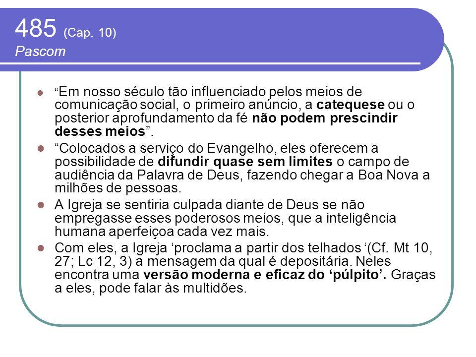 485 (Cap. 10) Pascom