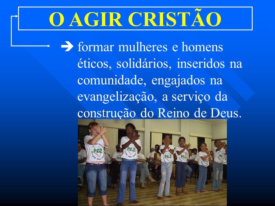 O AGIR CRISTÃO