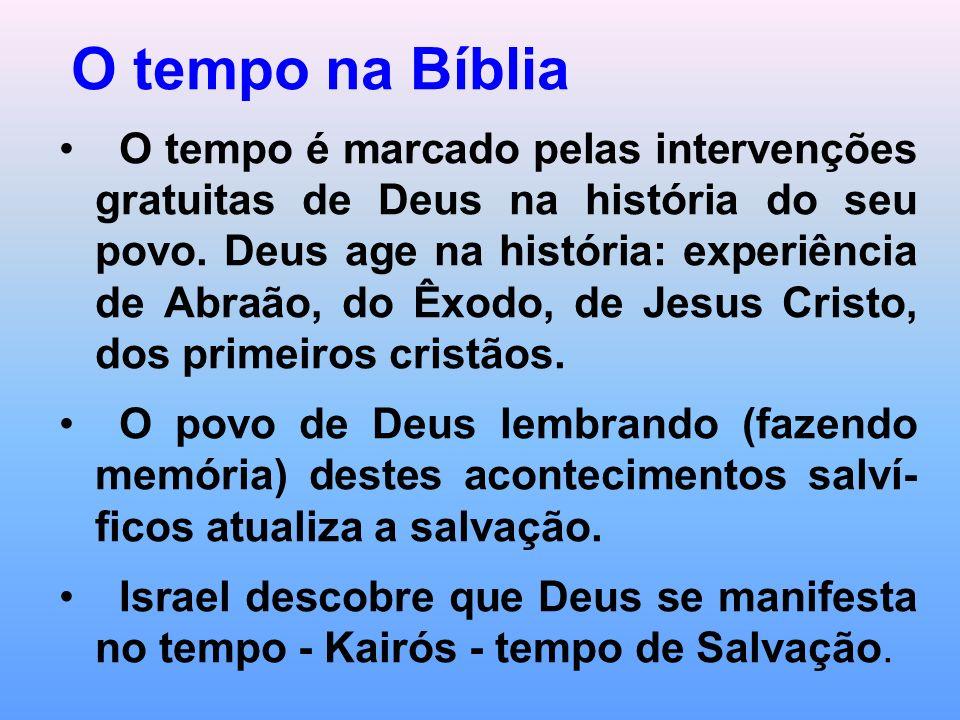 O tempo na Bíblia