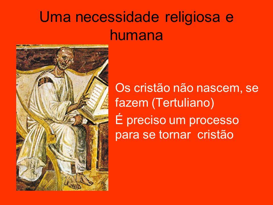 Uma necessidade religiosa e humana