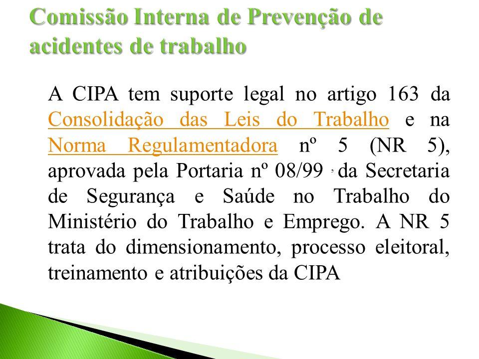 Comissão Interna de Prevenção de acidentes de trabalho
