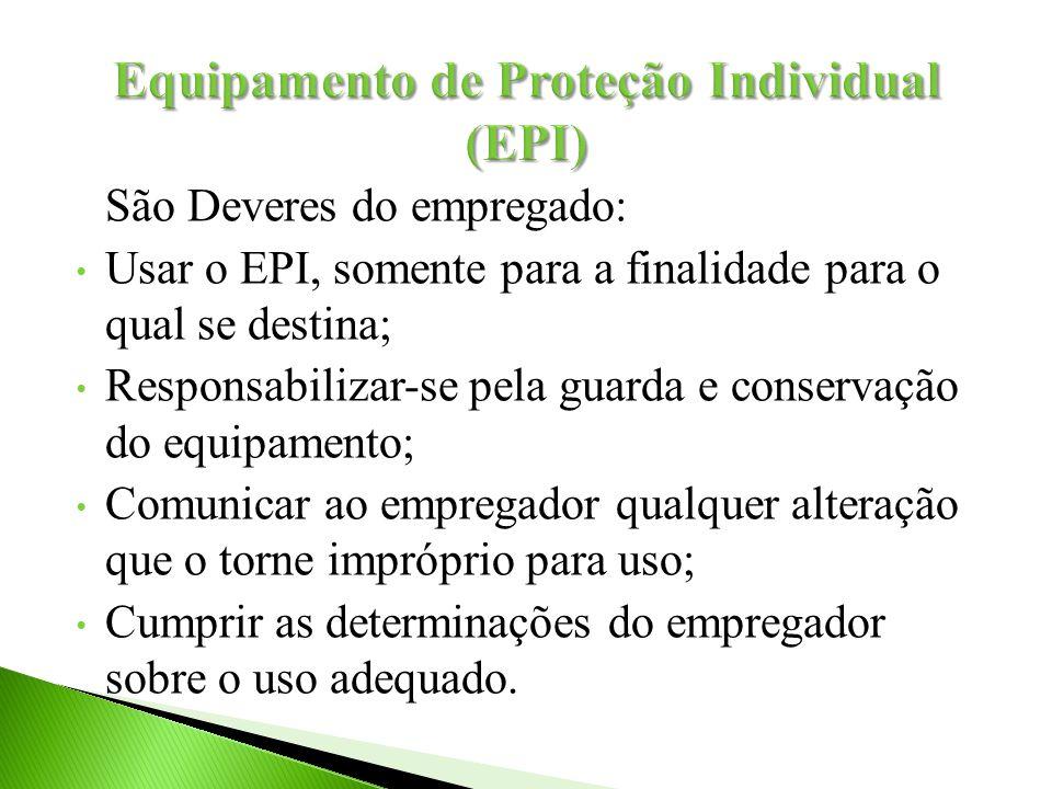 Equipamento de Proteção Individual (EPI)