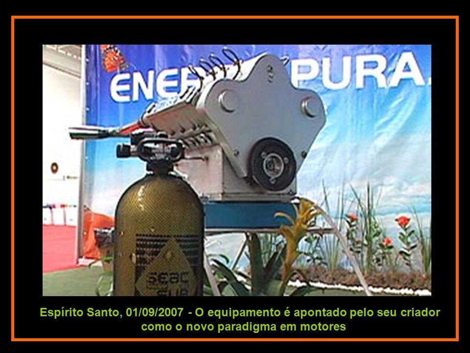 Espírito Santo, 01/09/2007 - O equipamento é apontado pelo seu criador